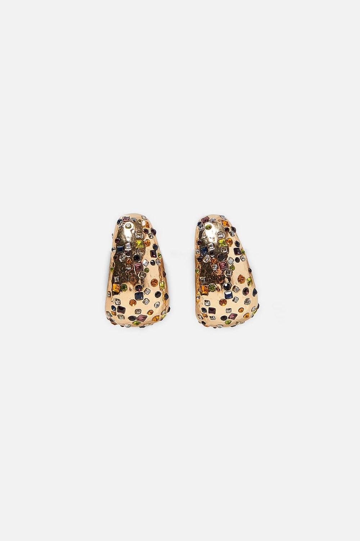 ZARA Beaded Earrings-$20