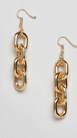 ASOS Chain Earrings- $9.50