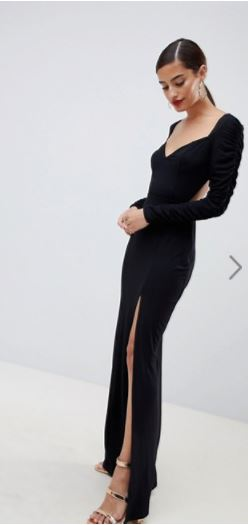 ASOS Rouched Dress- $56