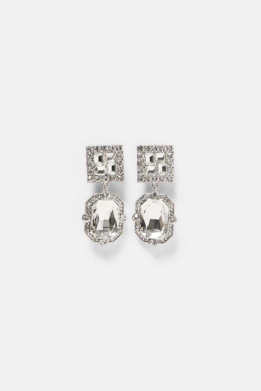ZARA Jewel Earrings- $19.99