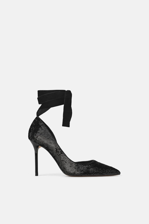 ZARA Shiny High Heel- $69.90