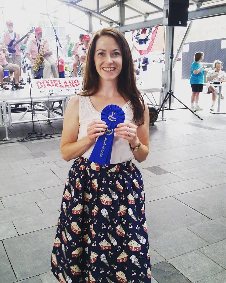 Lexington 4th of July pie contest 2017