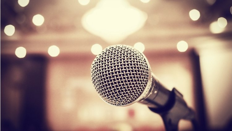 Speaking & Presenting - Booking and Events