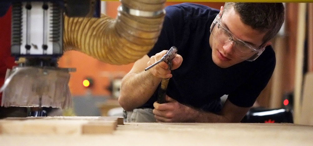 Earn a Degree in Woodworking - Woodworking School in Adrian MI