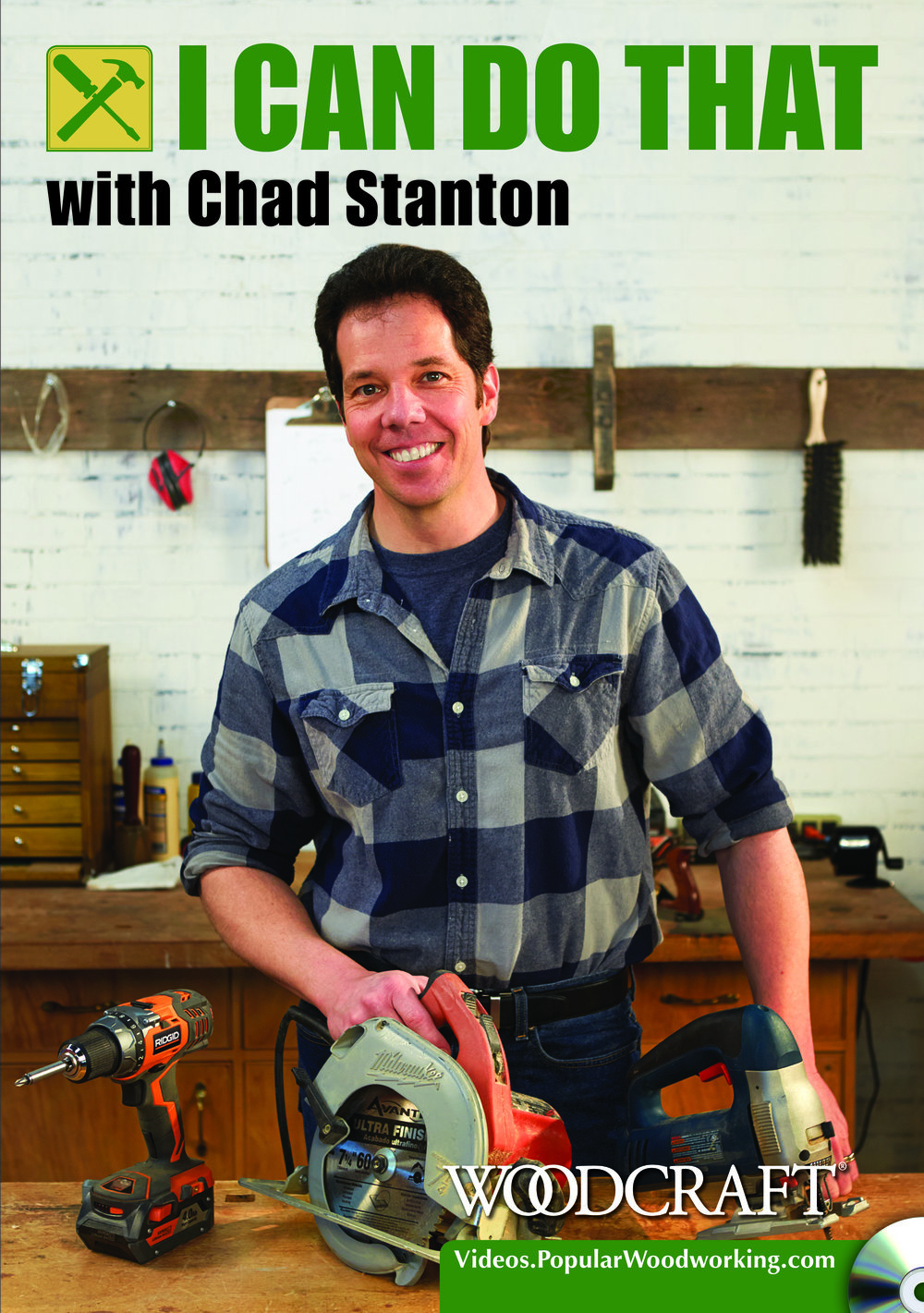 Chad Stanton Woodworking Classes - Popular Woodworking, I Can Do That