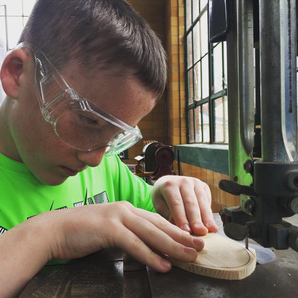Wood shop safety certification - STEM learning