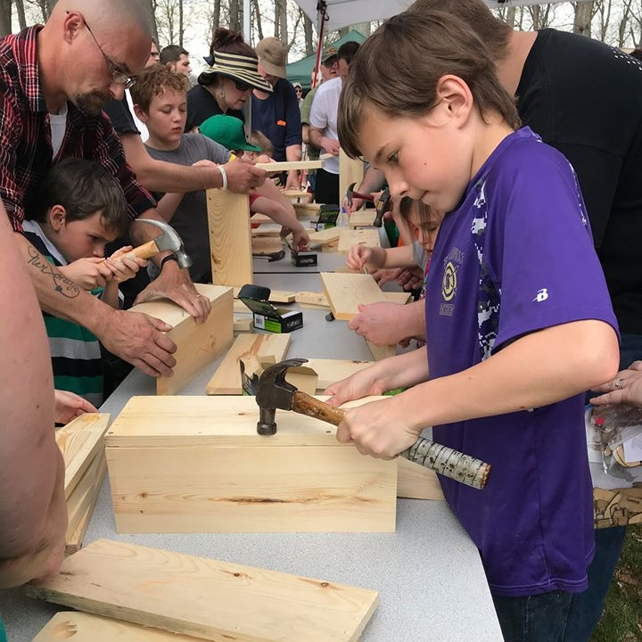 Teach kids woodworking