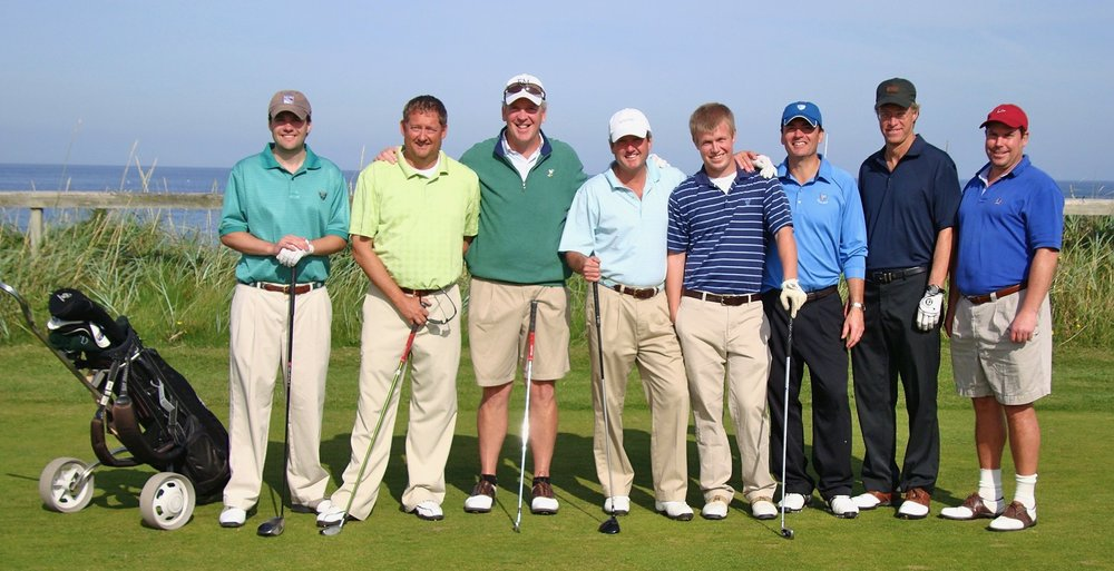 One of the guys trip:  Turner Bailey, Eric Sappenfield, Kevin Keady, Clarke Bailey, Timmy Dolan, mw, Peter Dolan, Chris Wolters.