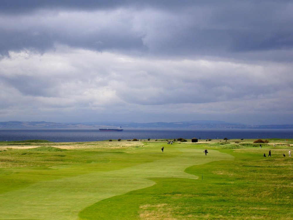One of my better pictures capturing the light and awesomeness of Gullane number 1!