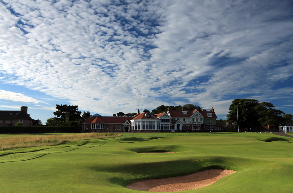 The magnificent Club house...