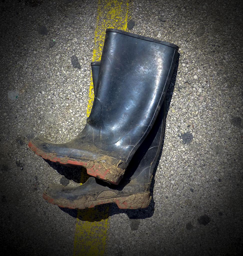 Boots, Walmart parking lot