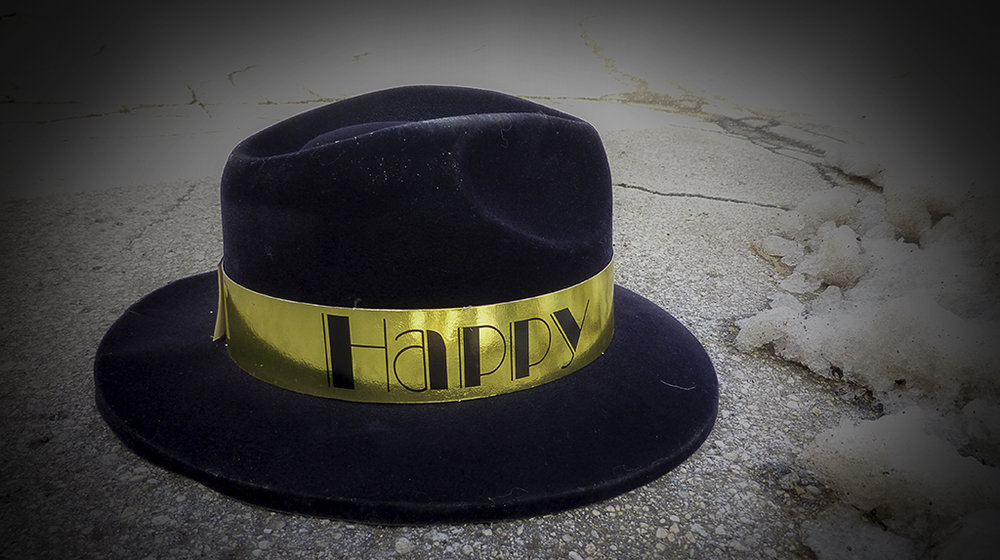 New Years Hat, South 10th Street