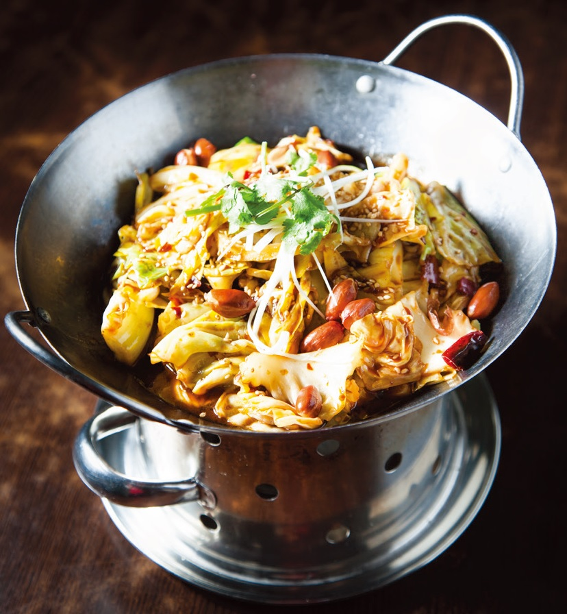 Stir fried spicy cabbage