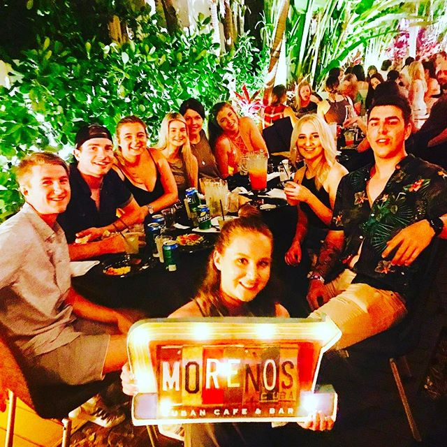 Have your next event at Moreno's Cuba! #events #mojitos #cubanbar #miamibeach #food #cuba