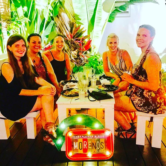 Book your next Birthday @ Moreno's Cuba #birthdaydinner #bacheloretteparty #cuba #miamibeach #cubanbar #food #party #mojitos