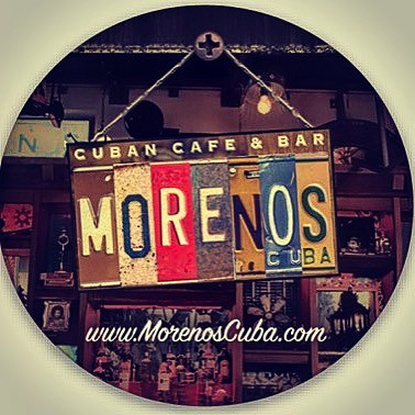 Moreno's Cuba #stickers coming soon.. #dorchestermiamibeach #food #mojitos #party #bar #cuba🇨🇺