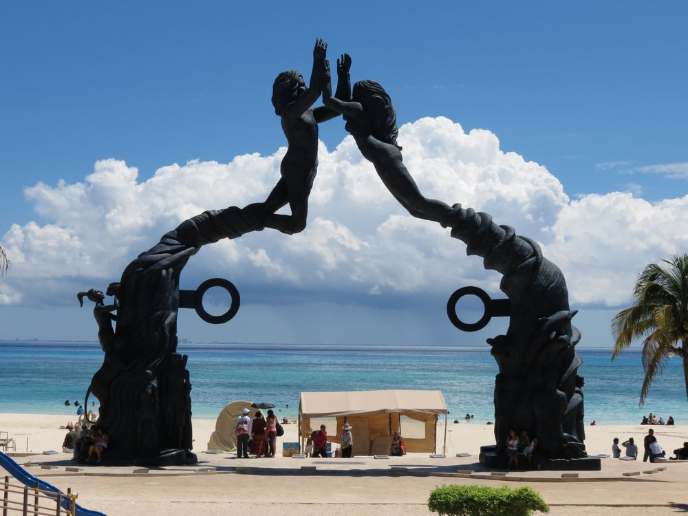 Beaches of Playa del carmen