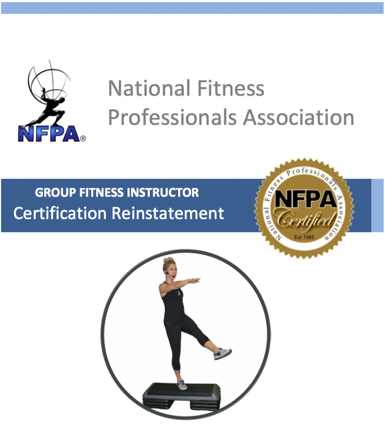 Reinstatement Course - Group Fitness Instructor — NFPA