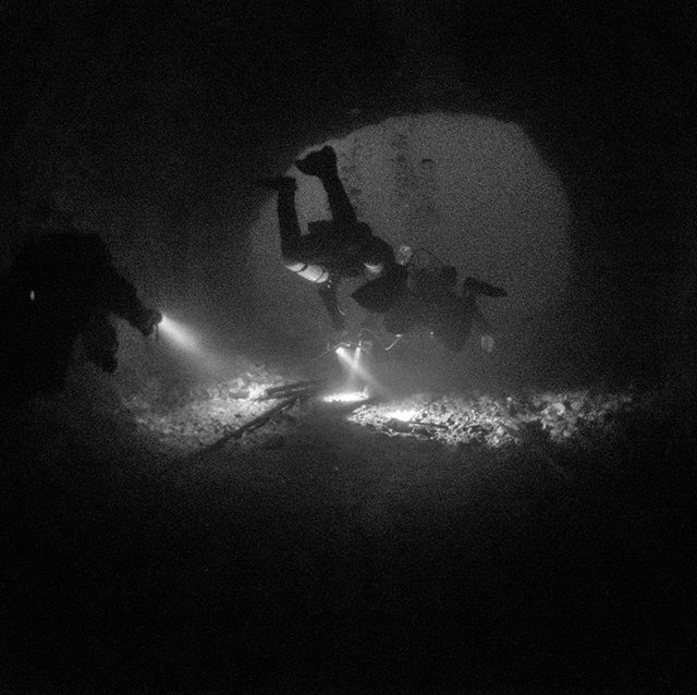 Last weekend SSI cavern course at Kaatiala mine. Congrats to Pekka and Petri. Boys did awesome job at course and I'm happy to certify them. #4kdive #diversb&b #kaatiala #divessi #ssixr #caverndiving #cavediving #technicaldiving