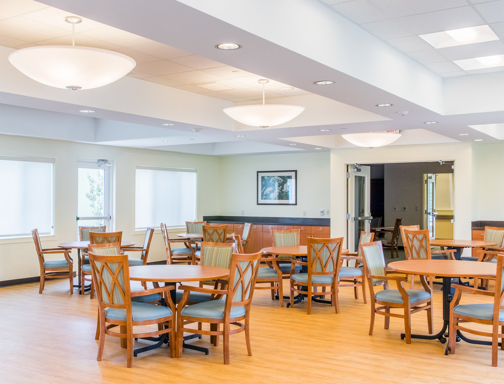 Dining Room  Doctors Community Rehabilitation and Patient Care Center Lanham, Maryland