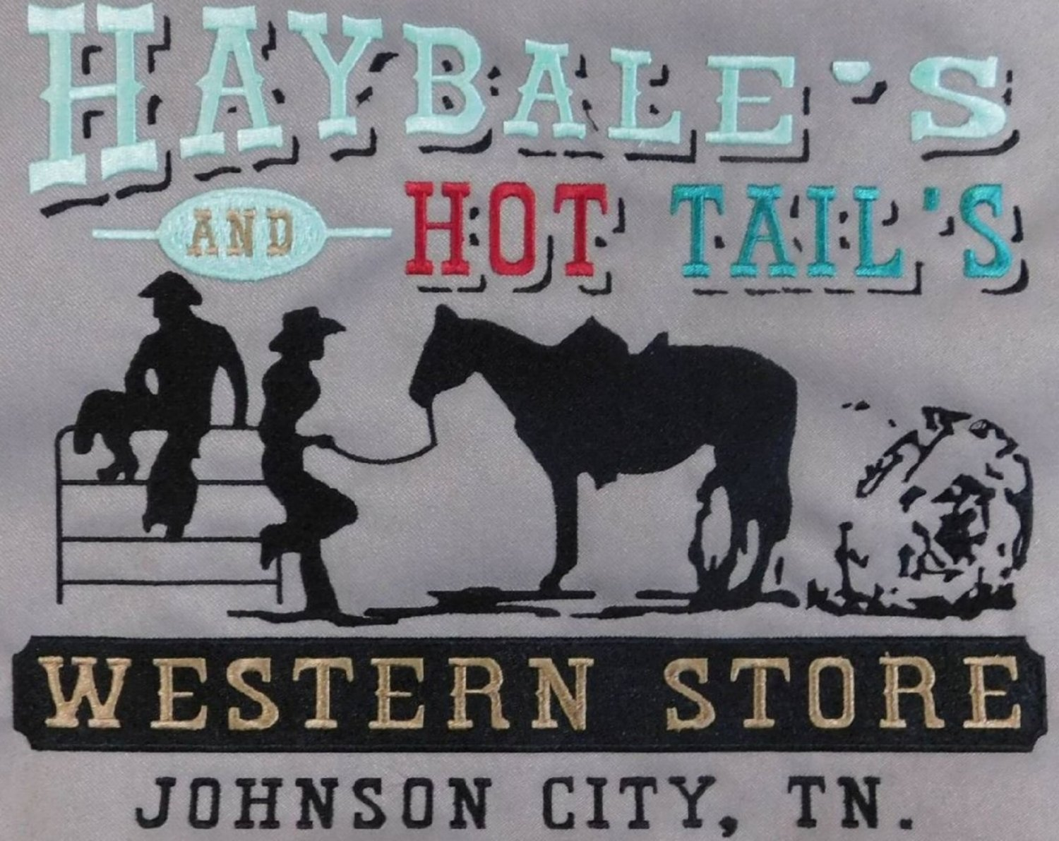 HAY BALES AND HOT TAILS WESTERN STORE