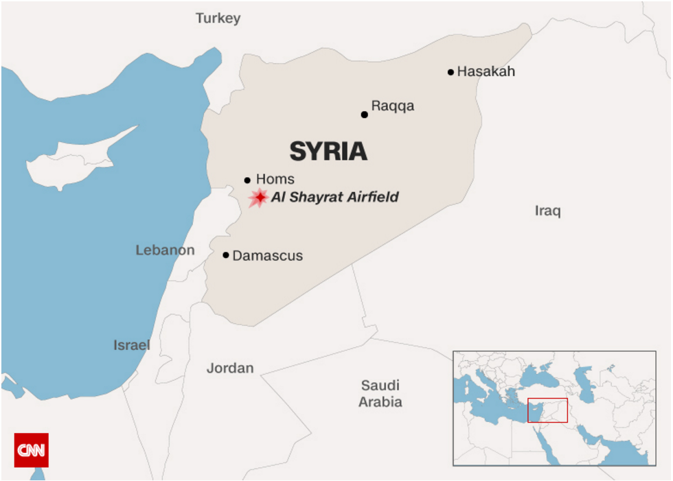 Source:http://www.cnn.com/2017/04/06/politics/donald-trump-syria-military/index.html