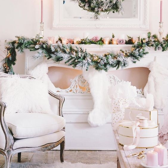 These over sized stockings are so fun! Have fun with your decor...