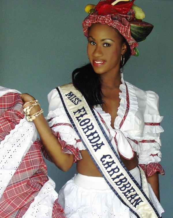 Miss Florida Caribbean 2002, Allakey Francis