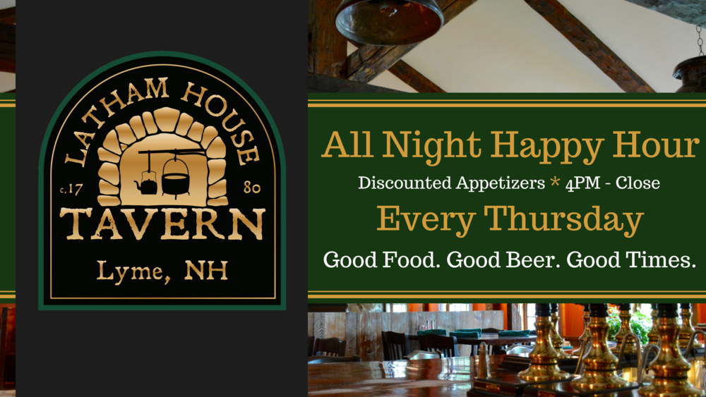 Thursday: All Night Happy Hour - Latham House Tavern