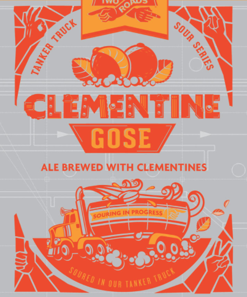 Two Roads Tanker Truck Series: Clementine Gose