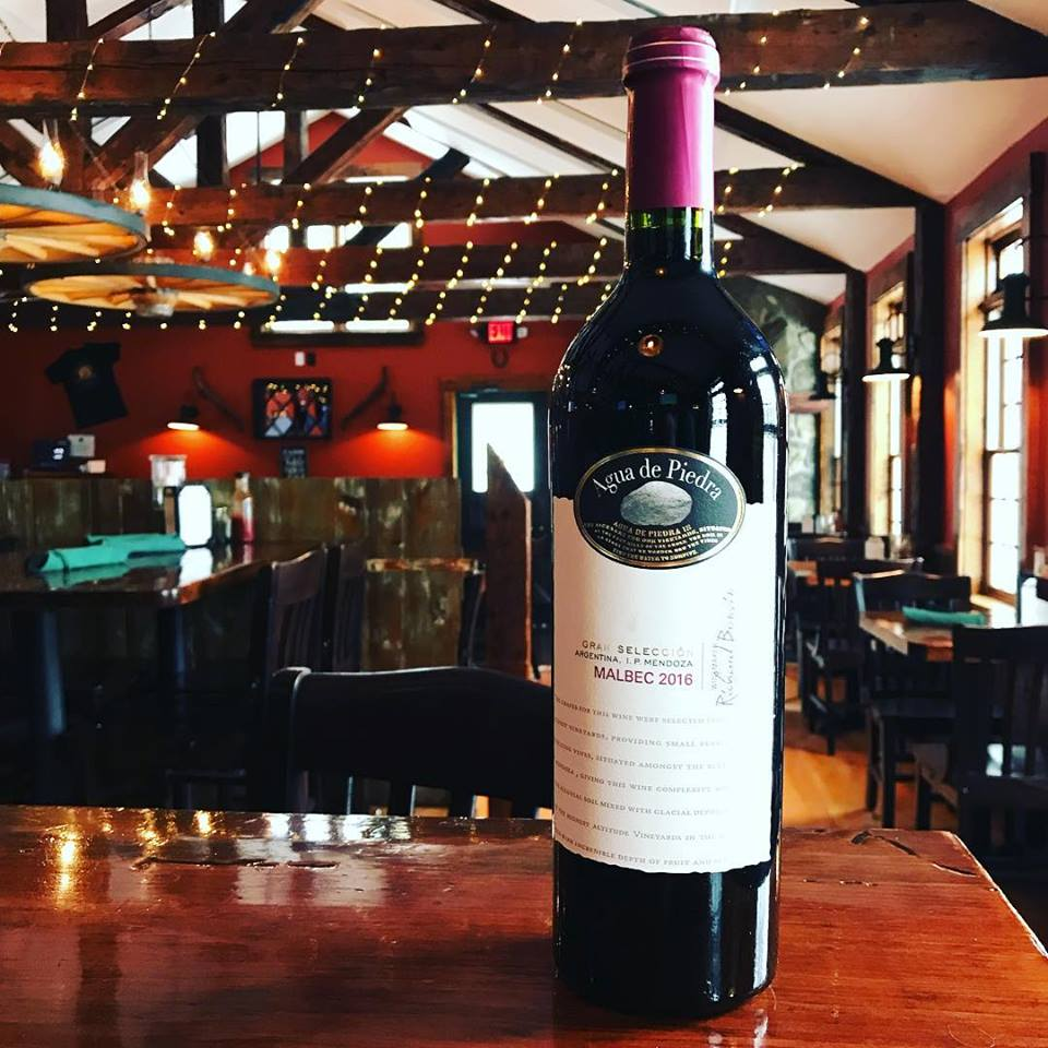 Agua De Piedra Seleccion Malbec at the Latham House Tavern