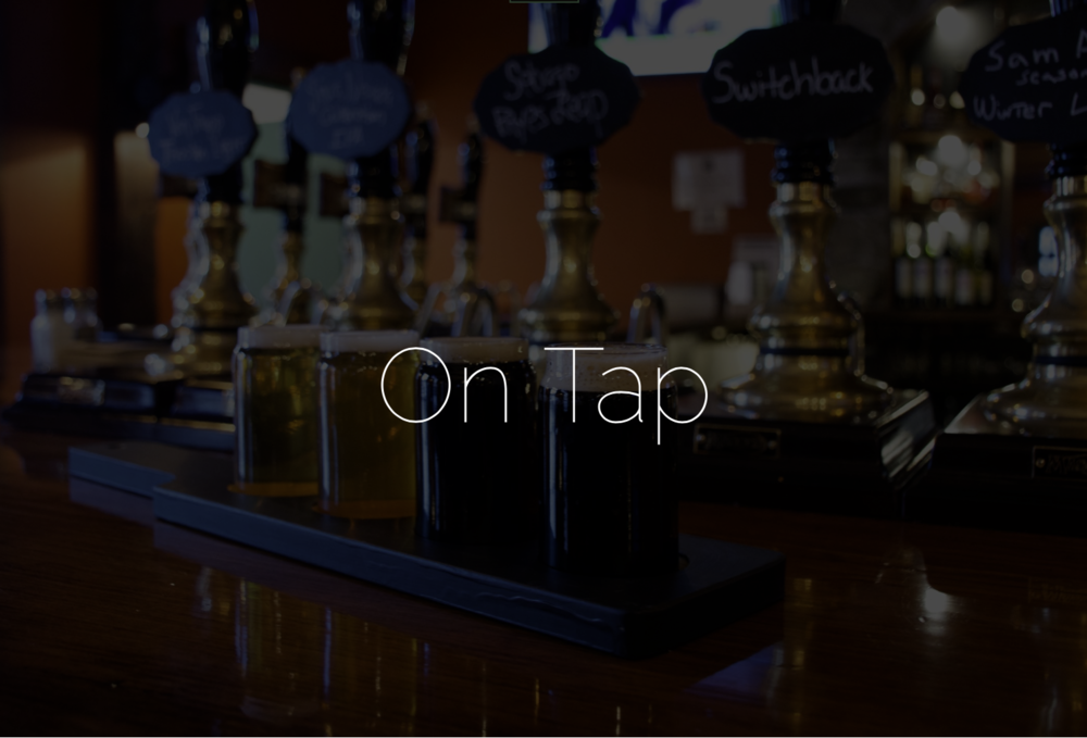 Now On Tap - Latham House Tavern