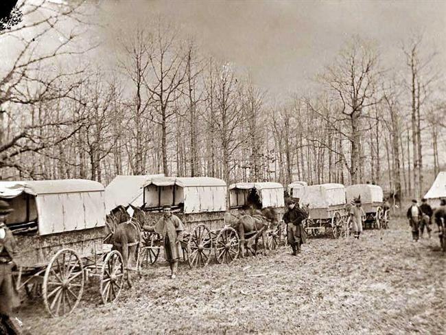American Civil War ambulances
