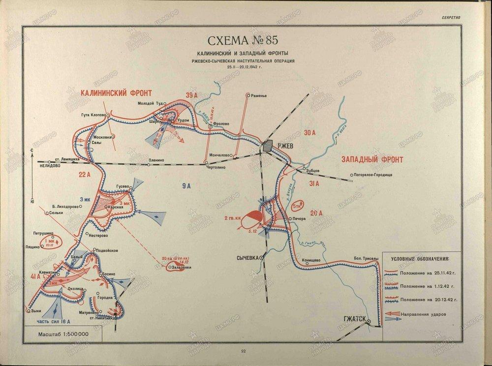 Rzhev-Sychevskaya Strategic Offensive - December 1942