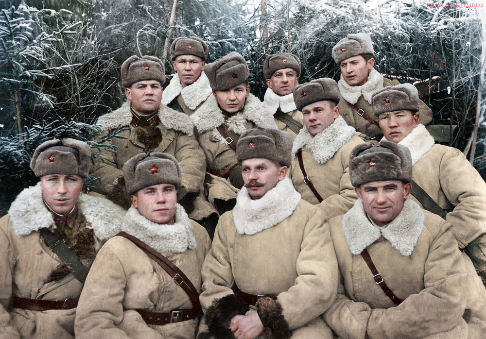 Officers Volhov Front 1942