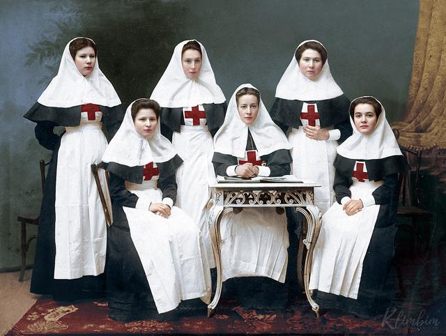 Russian nurses of the Great War