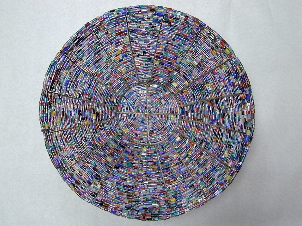 Large Beaded Bowl