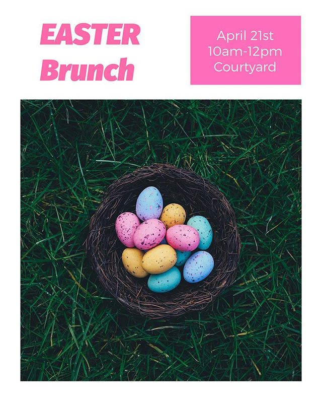 We can't wait to see you tomorrow at our Easter brunch! #LifeAt880