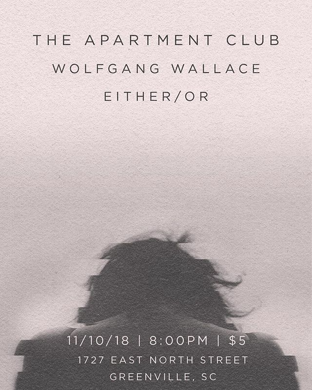 We are throwing a house show for our upcoming release! @wolfgangwallaceband and @eitherorband are helping us celebrate, so come party with us. This is for all of you. Let's make it a memorable night. @rjjack13 with the amazing poster.