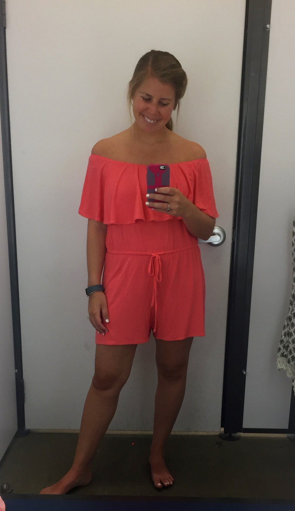 This is me trying to make a romper work, but I never feel like I can pull one off. I really love this one if you are a romper wearer though!