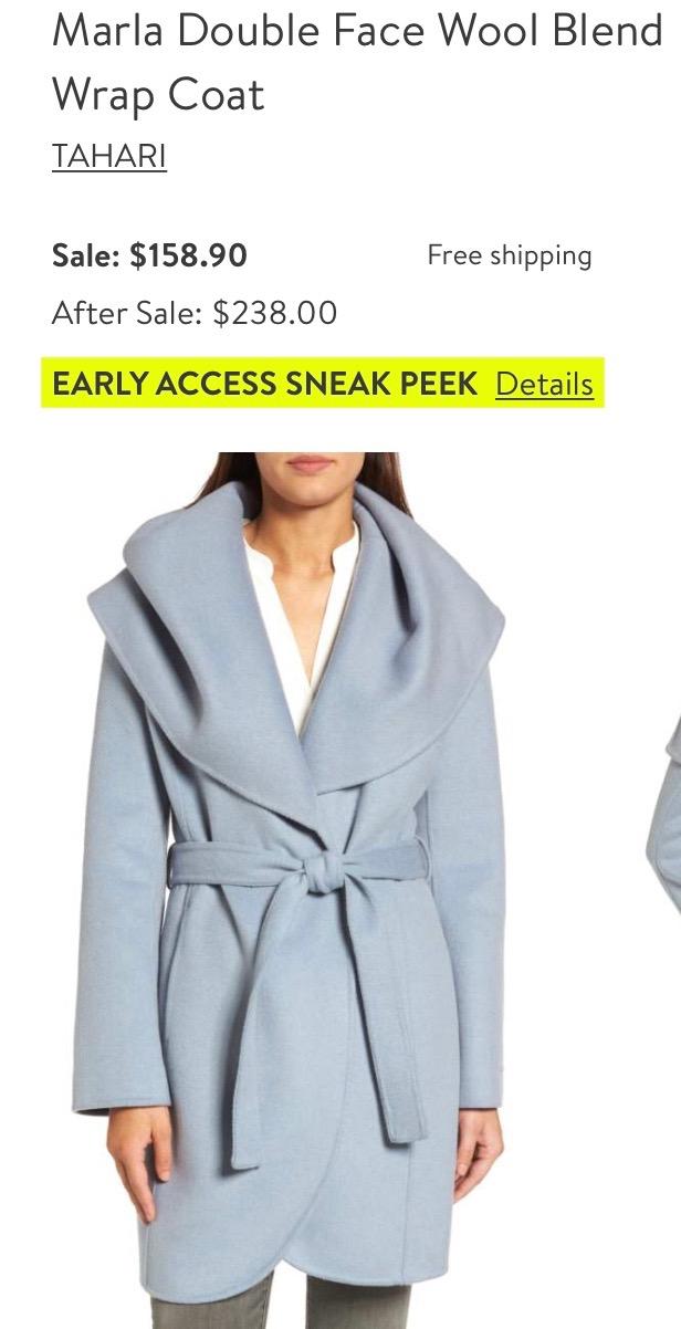 *Wrap Coat
