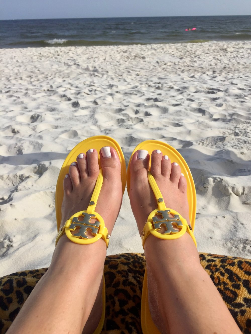 00006734c7f0 Printed Thin Flip Flop- The next two pairs of shoes are this same style.  They are one of Tory Burch s most affordable items. I picked up this first  pair ...