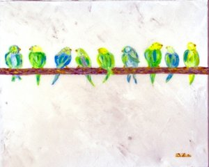 Mixed Media Birds II