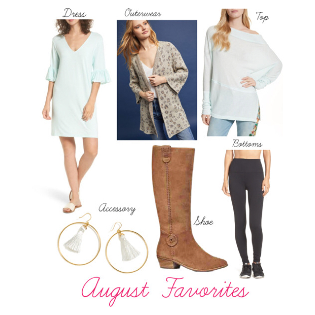 Favorite Dress  //      Favorite Outerwear  //  Favorite Top  //  Favorite Bottoms  //  Favorite Shoes  //  Favorite Accessory