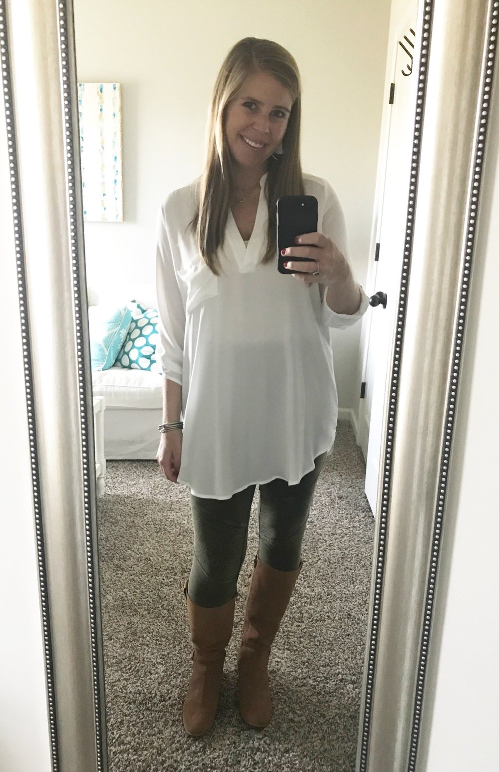 Tunic  //  Leggings  //  Boots  //  Earrings