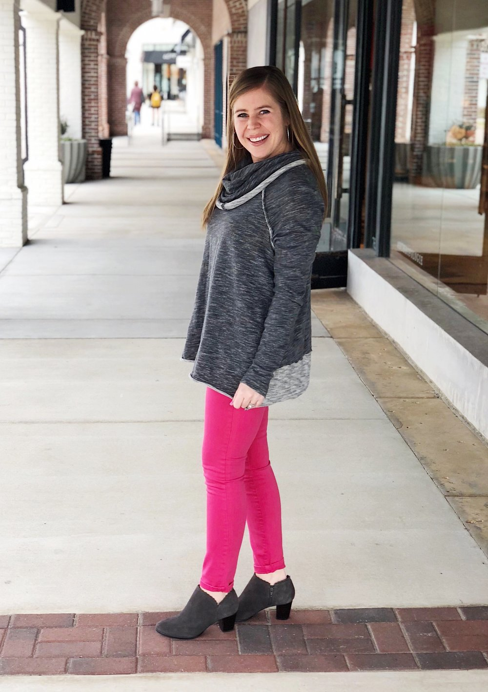 Sweater  //  Booties