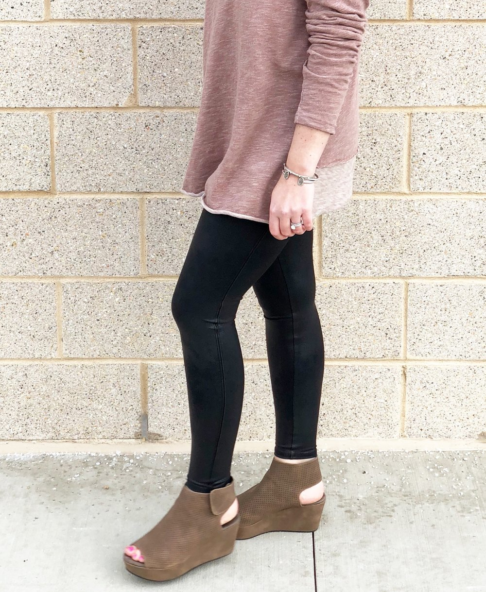 Sweater  //  Wedges