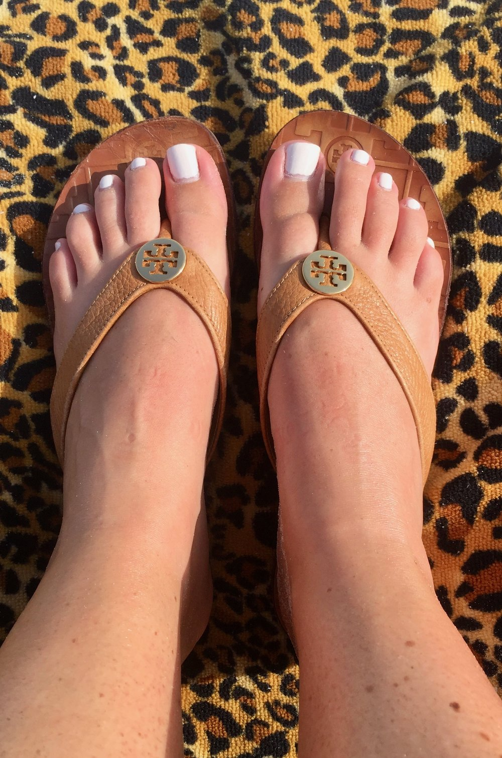 Everybody always talks about the    Miller sandals    (which are great), but these    Monroe sandals    are actually my favorite pair of sandals by Tory Burch!