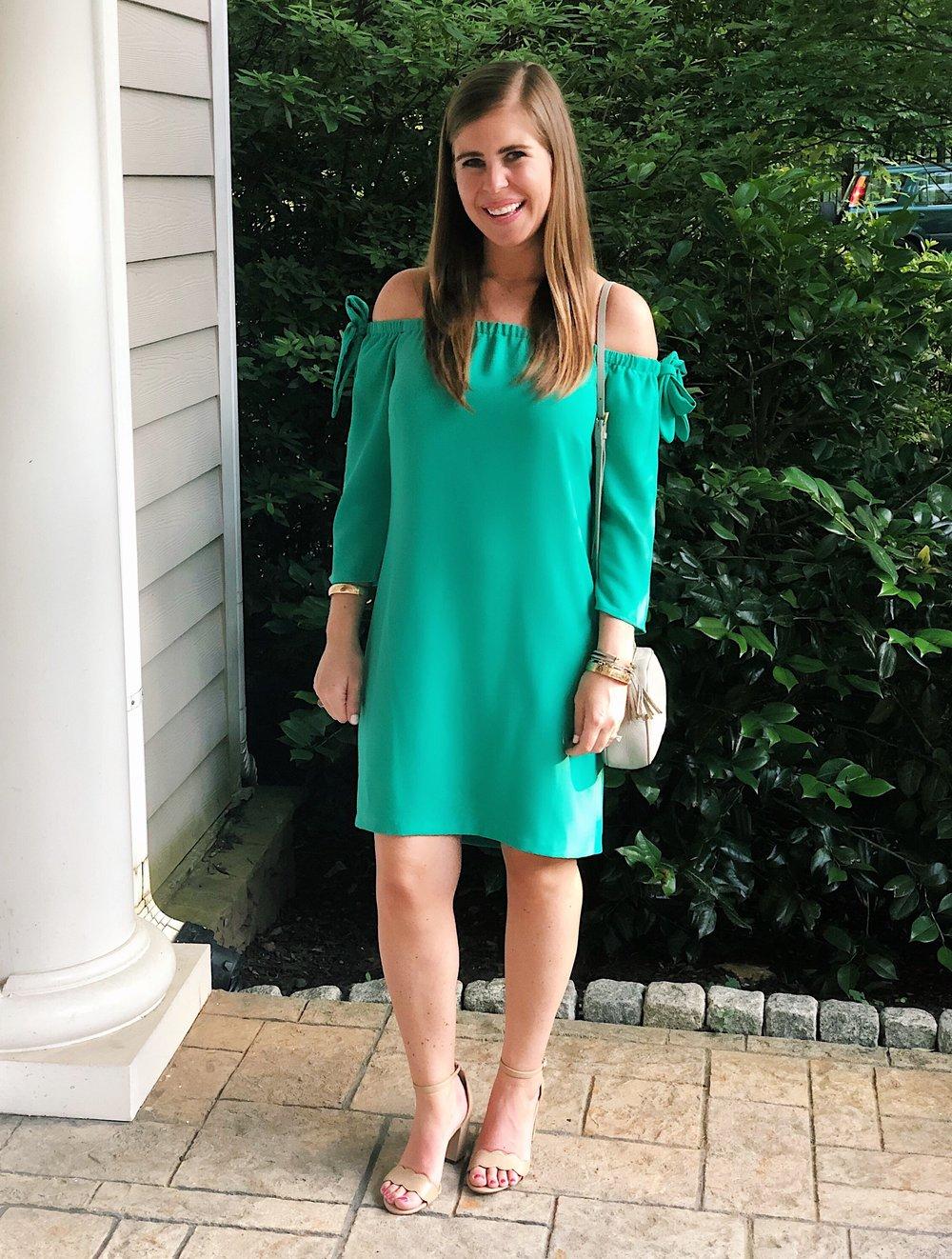 Dress  |  Bag  |  Heels