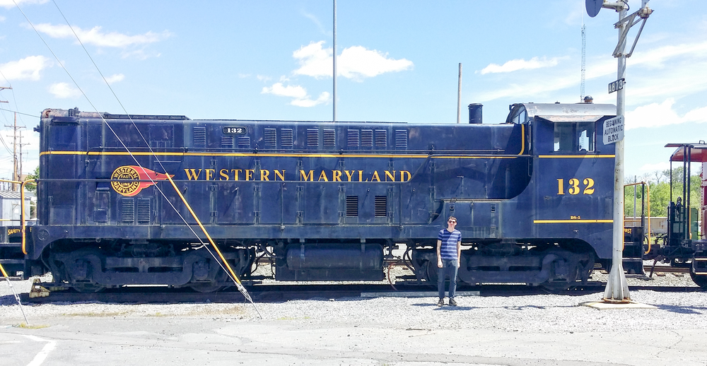 Back in May, I got to spend some time with the Western Maryland 132. This Baldwin VO-1000 diesel-electric locomotive was built in February 1944 and was one of the five that served the Western Maryland Railways. The great people at the Hagerstown Museum restored it nicely. If you're ever in the area, check them out!